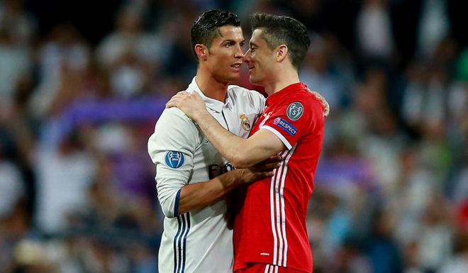 Cristiano Ronaldo Robert Lewandowski