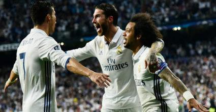 Cristiano Ronaldo Marcelo Sergio Ramos