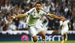 Javier Chicharito Hernández Real Madrid