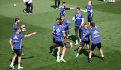 real madrid training gruppe
