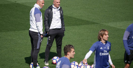 training real madrid zidane