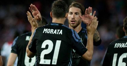 Álvaro Morata Sergio Ramos