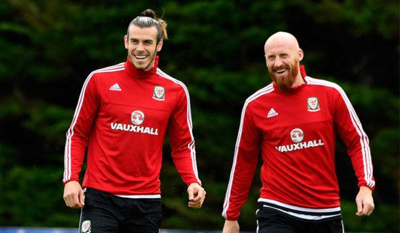 Gareth Bale James Collins