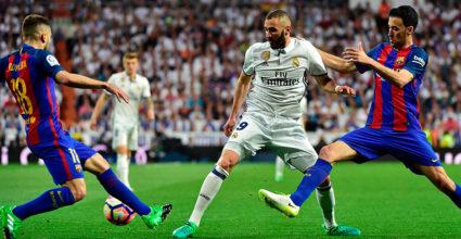 Karim Benzema Real Madrid Clásico