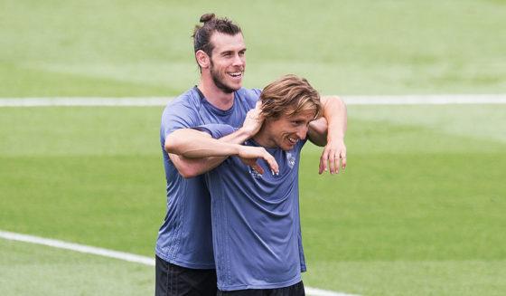 Gareth Bale Luka Modric