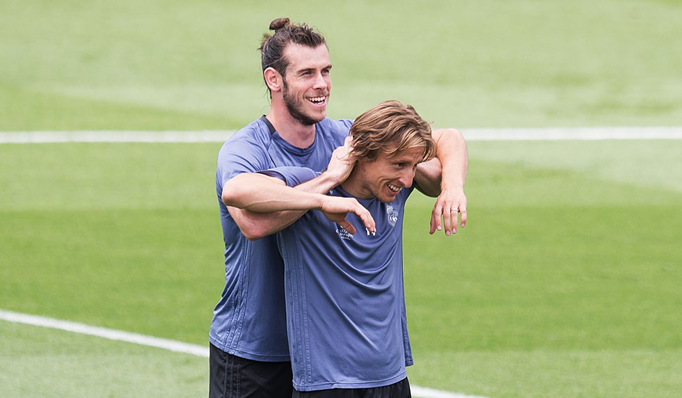 """Bale verrät: """"Modrić war ein Grund für meinen Madrid Wechsel"""