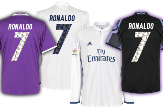 cristiano ronaldo trikot real madrid angebot offer promotion