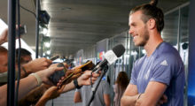 real madrid media day bale