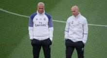 training real madrid zidane
