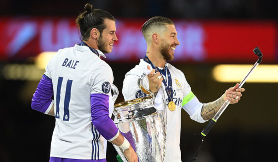 Sergio Ramos Gareth Bale