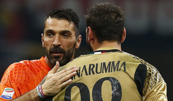 Gianluigi Donnarumma Gianluigi Buffon