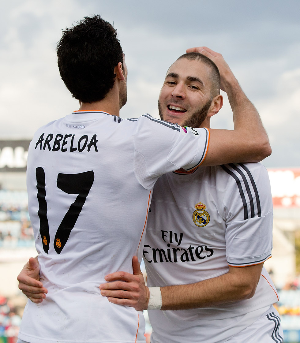 Álvaro Arbeloa Karim Benzema