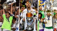 real madrid champions league 2014 2016 2017