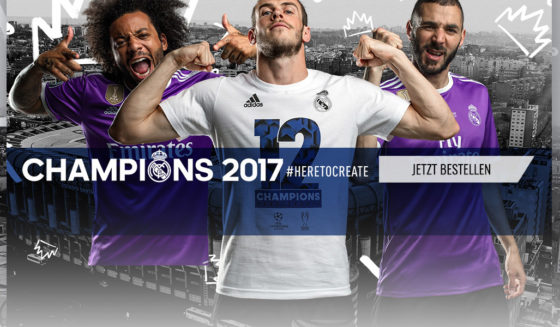 real madrid fanartikel duodecima trikot champions league