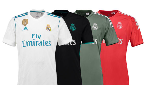 real madrid neue trikots 2017-18