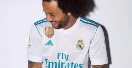 real madrid neues trikot marcelo heim