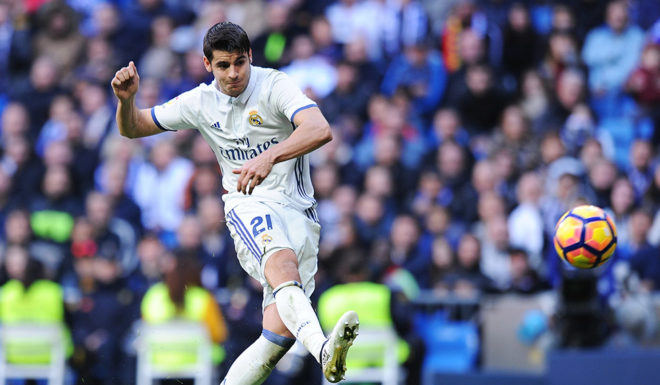 Álvaro Morata Real Madrid