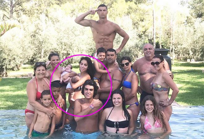Doch Schwanger Ronaldo Bestätigt Gemeinsames Kind Mit Georgina