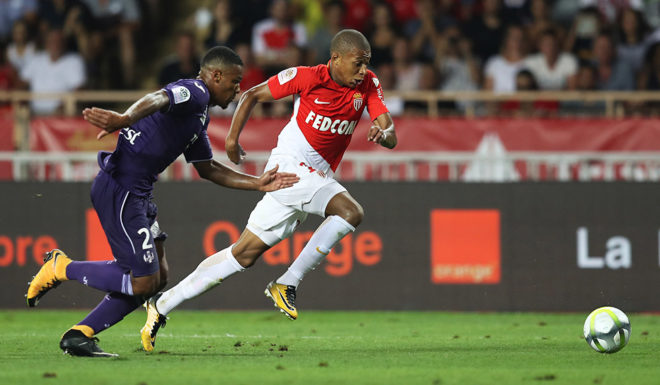 Kylian Mbappé AS Monaco