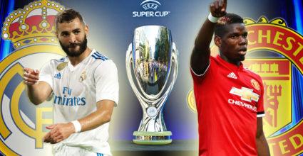 Karim Benzema Paul Pogba UEFA Super Cup