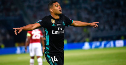 Carlos Casemiro Real Madrid