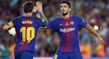 Lionel Messi Luis Suárez