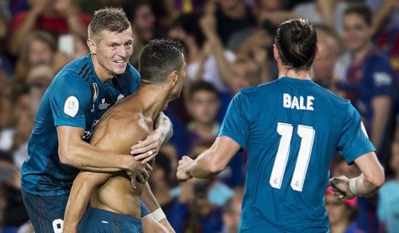Toni Kroos Cristiano Ronaldo