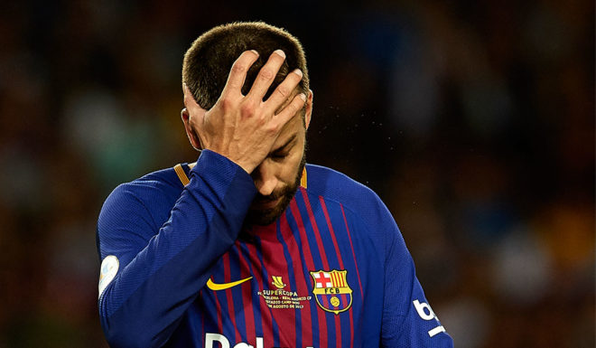 Gerard Piqué FC Barcelona