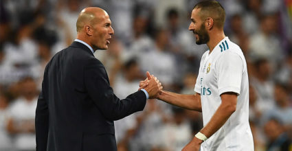 Zinédine Zidane Karim Benzema