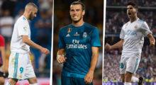 Karim Benzema Gareth Bale Marco Asensio