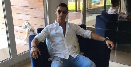 Cristiano Ronaldo CR7 Chillen