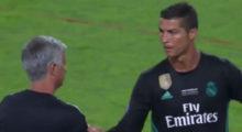 José Mourinho Cristiano Ronaldo
