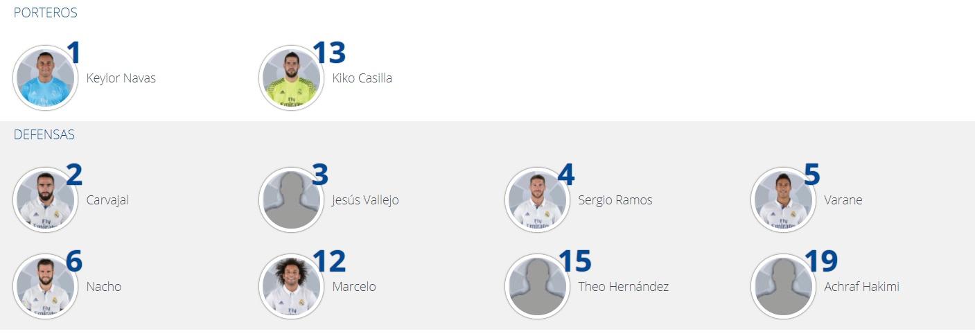 Real Madrid Achraf Hakimi LaLiga