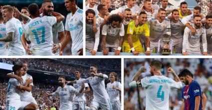 Real Madrid FC Barcelona Supercopa de Espana 2017