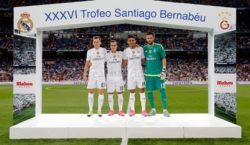 Lucas' Präsentation im Rahmen der Trofeu Bernabéu jährt sich