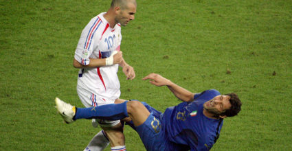 Zinédine Zidane Marco Materazzi