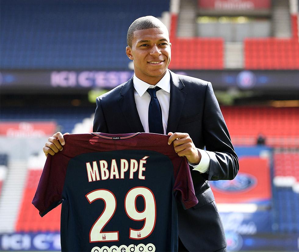 Kylian Mbappé Paris Saint-Germain