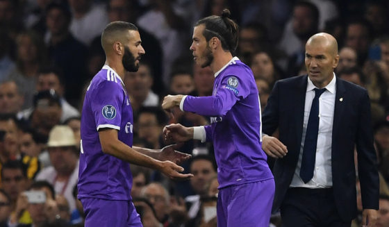 Karim Benzema Gareth Bale
