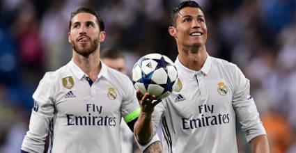 Sergio Ramos Cristiano Ronaldo