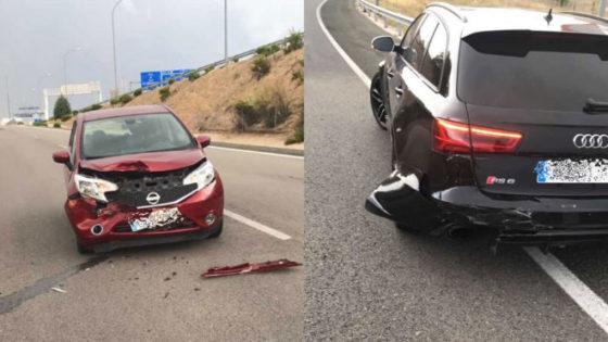 Karim Benzema Autounfall