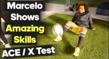 Freestyle-Tricks von Marcelo für Adidas