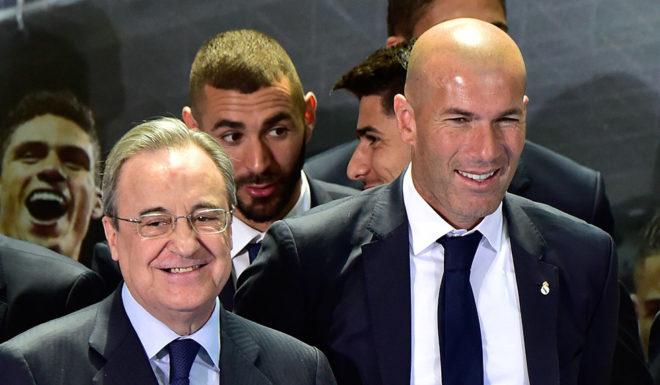 Florentino Pérez Zinédine Zidane