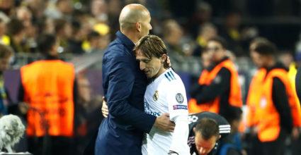 Zinédine Zidane Luka Modric
