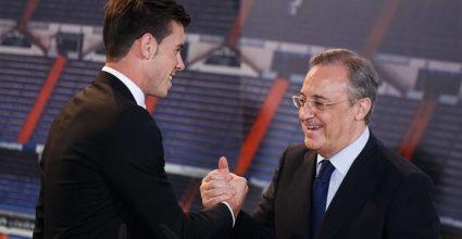 Gareth Bale Florentino Pérez