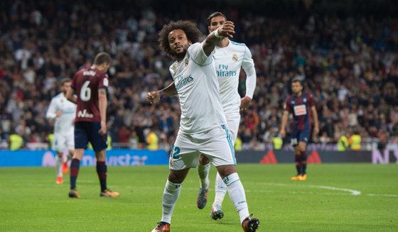 Marcelo Real Madrid