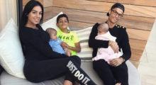 Cristiano Ronaldo Georgina Family
