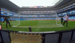 Estadio Santiago Bernabeu preparacion