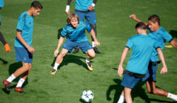 training real madrid modric