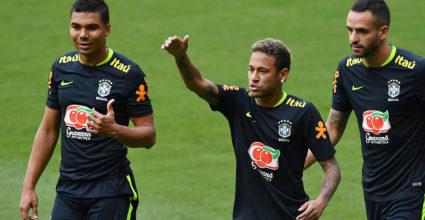 Casemiro Neymar