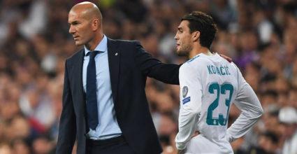 Mateo Kovacic Zinédine Zidane